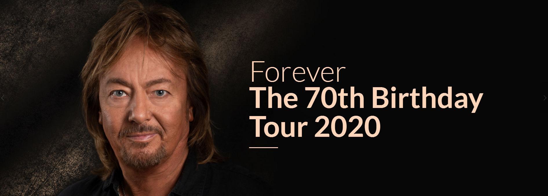 Chris Norman отметит 70-летие юбилейным концертом в Москве