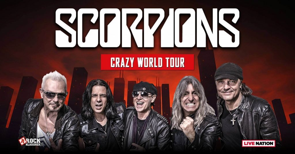 Scorpions - Crazy World Tour. Back to Russia
