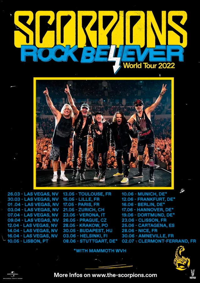 Scorpions - Tour 2022